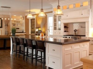 White family kitchen