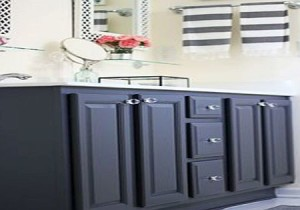 bathroom-cabinets-painted